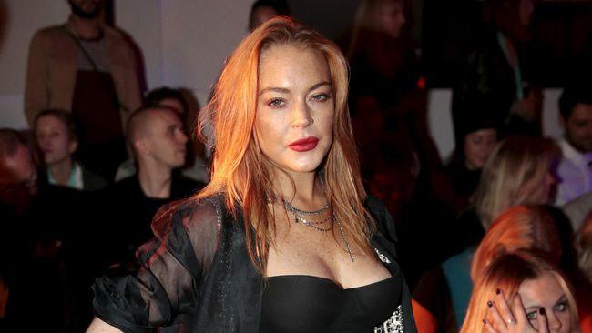 Lindsay Lohan ke Bali Disambut Meriah Netizen