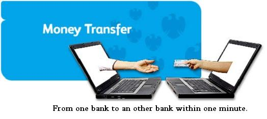 Transfer Money Online Within One Minute