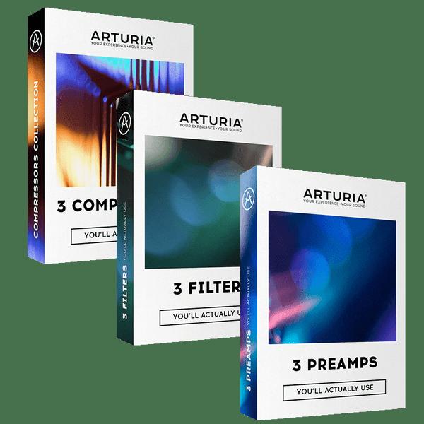Arturia 3 x 3 FX Bundle v2019.3 Full version