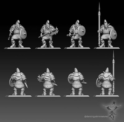 Update 10mm and 28mm Dwarfs and Hobgoblins picture 4