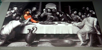 Santiago de Compostela - Museu do peregrino - Santa Ceia