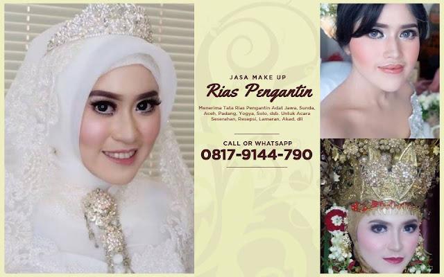 Recommended Wa 0817 9144 790 Rias Pengantin Jawa Modern Makeup