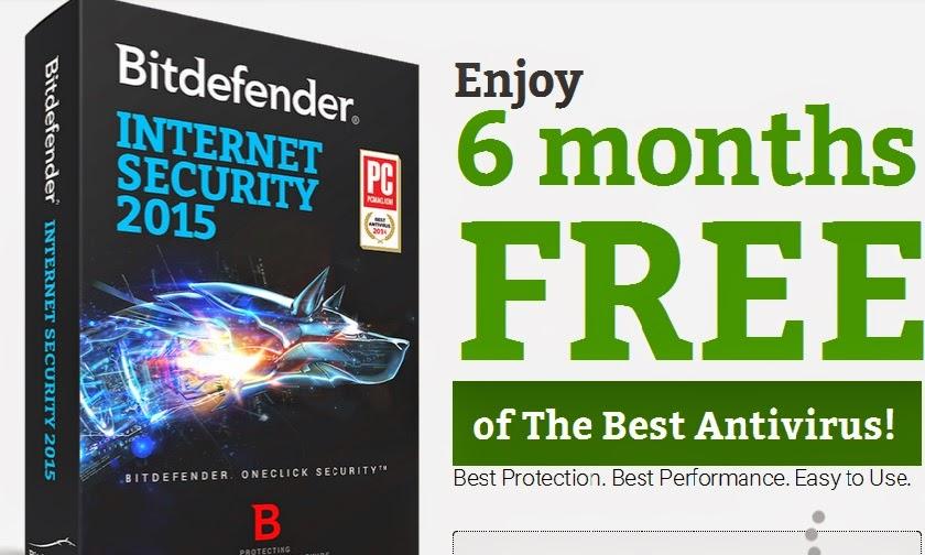Bitdefender 2015 promotie
