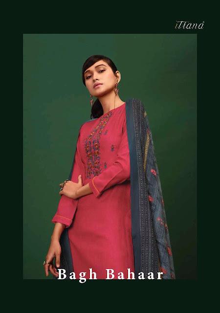 Itrana Bagh Bahaar Pashmina Salwar Kameez
