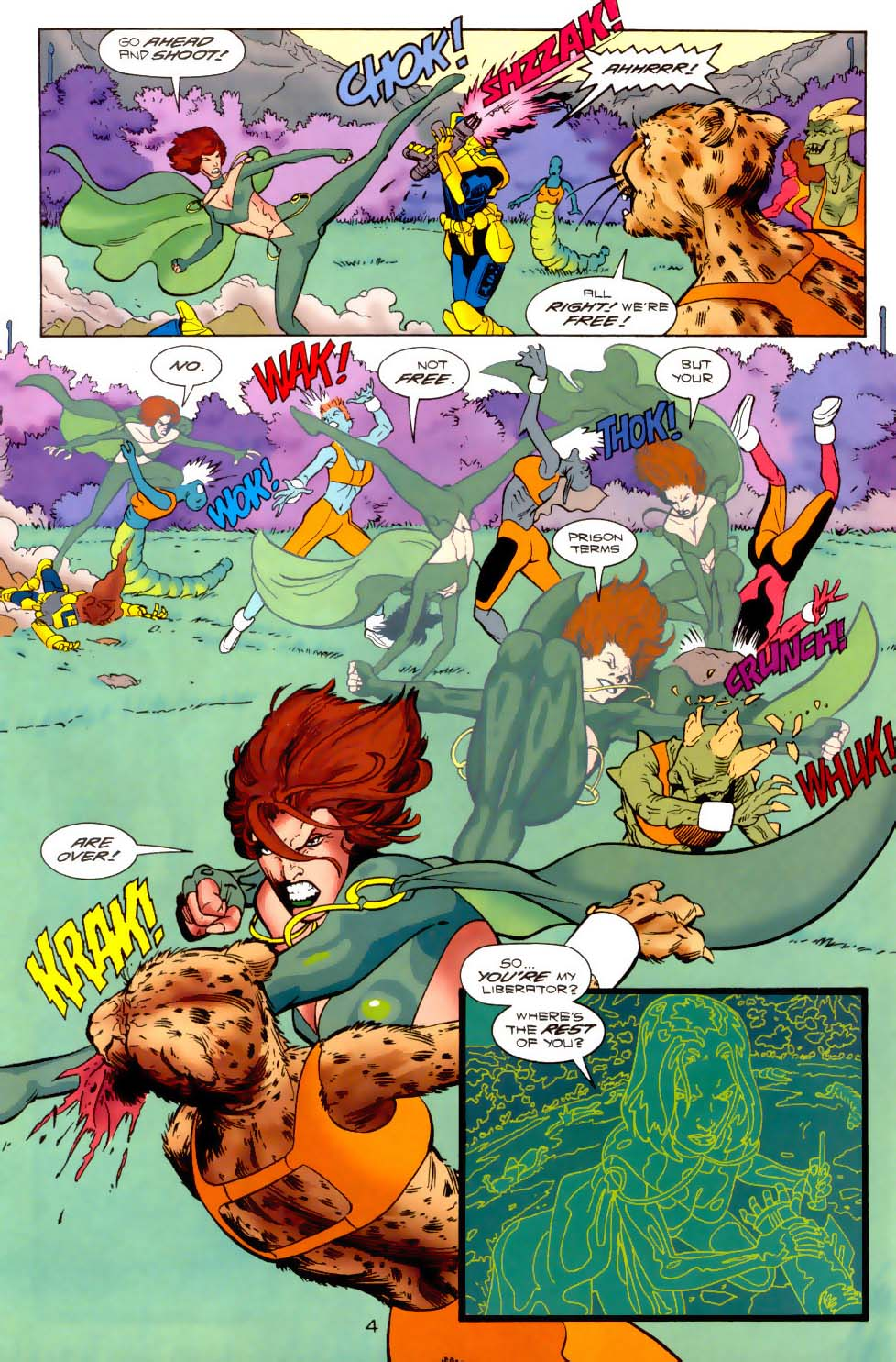 Legion of Super-Heroes (1989) 120 Page 4