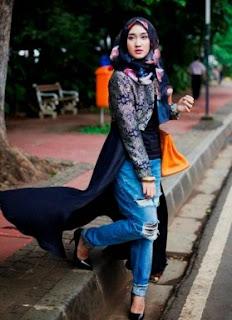 Foto Baju Muslim Casual Karya Desainer