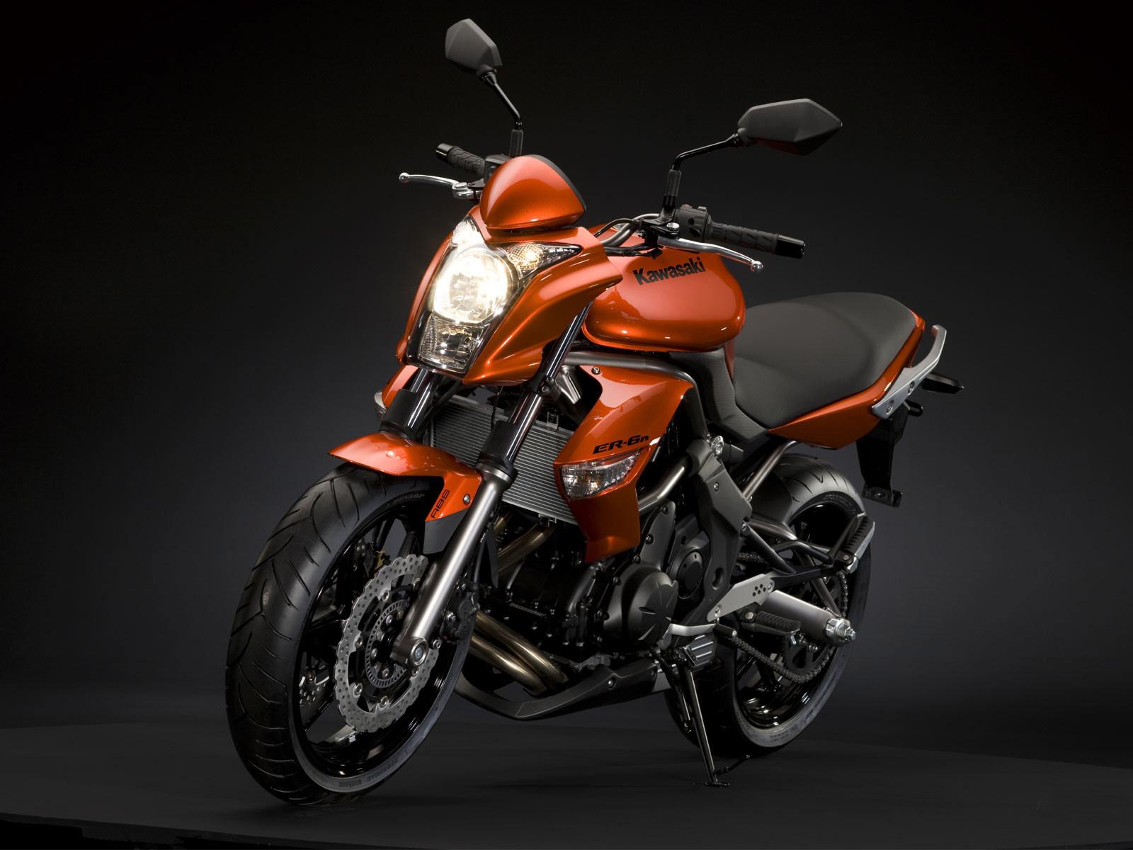 Motorcycle Insurance and Wallpapers: 2009 KAWASAKI ER-6n