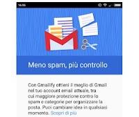 Aggiungere indirizzi di posta non Google su Gmail per Android
