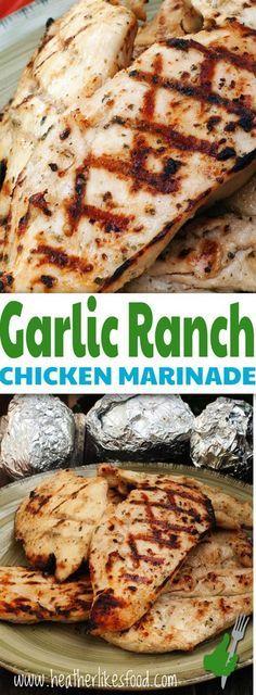 Gorgeous Garlic Ranch Chicken Marinade