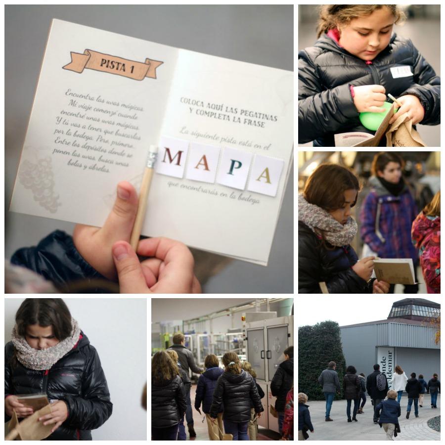 Enoturismo con niños #ExperienciaValdemar