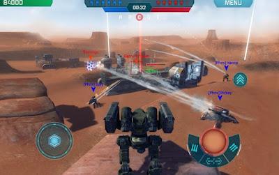War Robots v4.0.0 Mod Apk Update 2018 (Free Vip Premium)