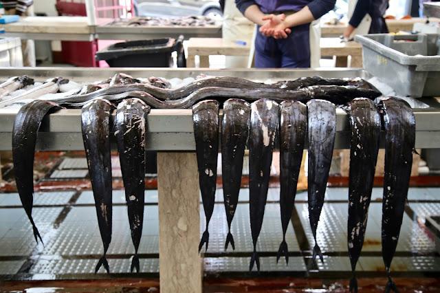 espada, fish market,  Funchal, Madeira,  pic: Kerstin Rodgers/msmarmitelover