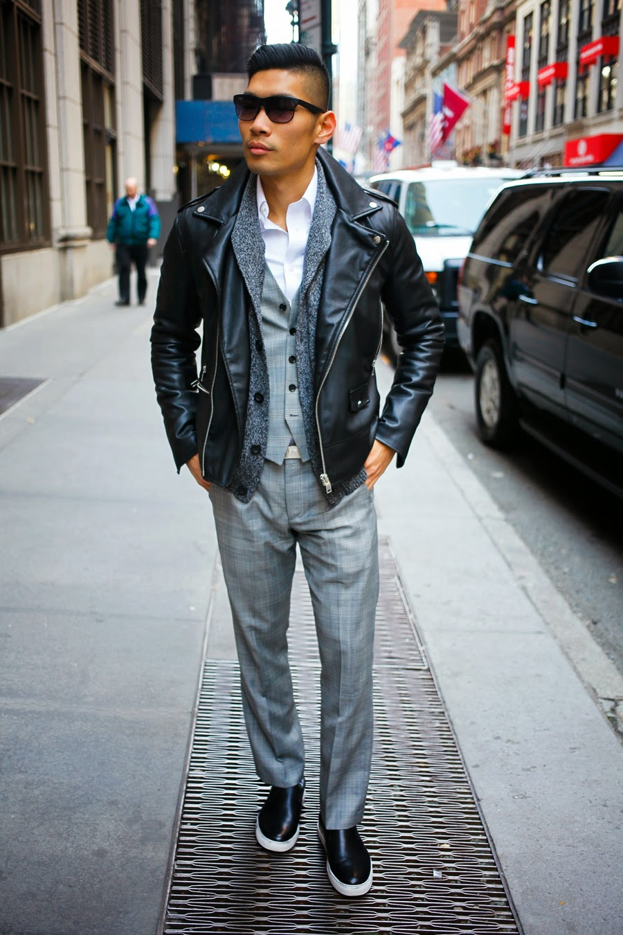 Levitate Style, Leo Chan - Ways to Wear a Leather Jacket