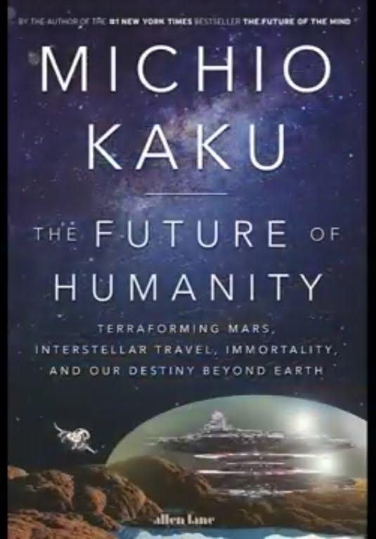 Foto copertina libro Dr Michio Kaku