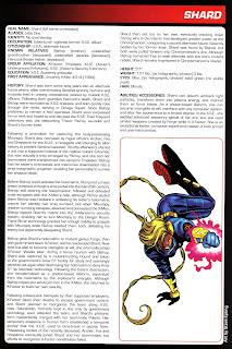 Shard Ficha Marvel
