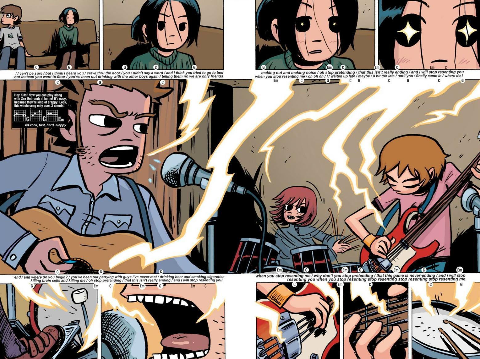 Read online Scott Pilgrim comic -  Issue #1 - 17