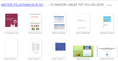 gambar materi pelatihan k 13 SD siap download