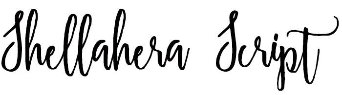 Shellahera Script Font