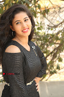 Telugu Actress Pavani Latest Pos in Black Short Dress at Smile Pictures Production No 1 Movie Opening  0232.JPG