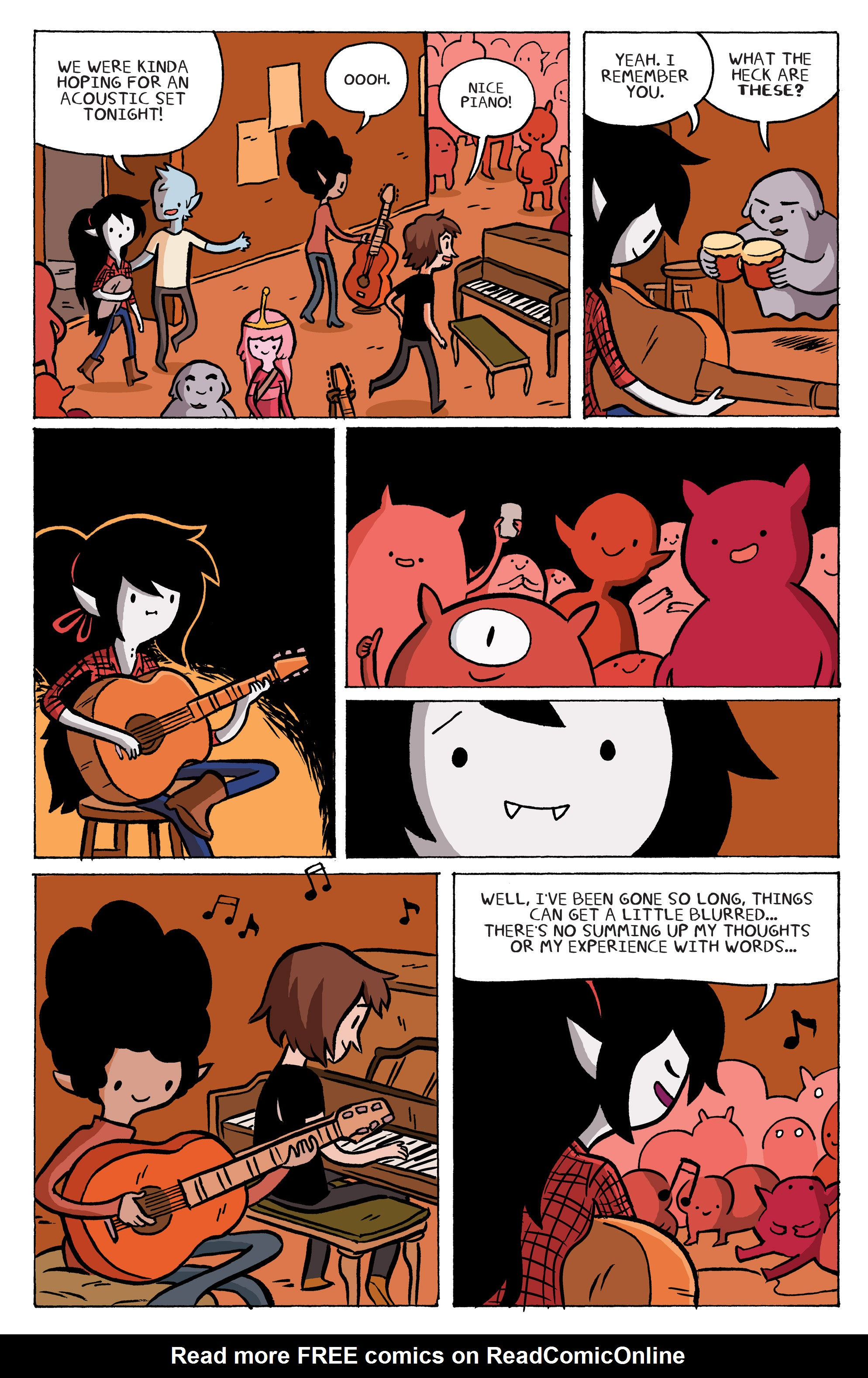 Read online Adventure Time: Marceline and the Scream Queens comic -  Issue #5 - 10