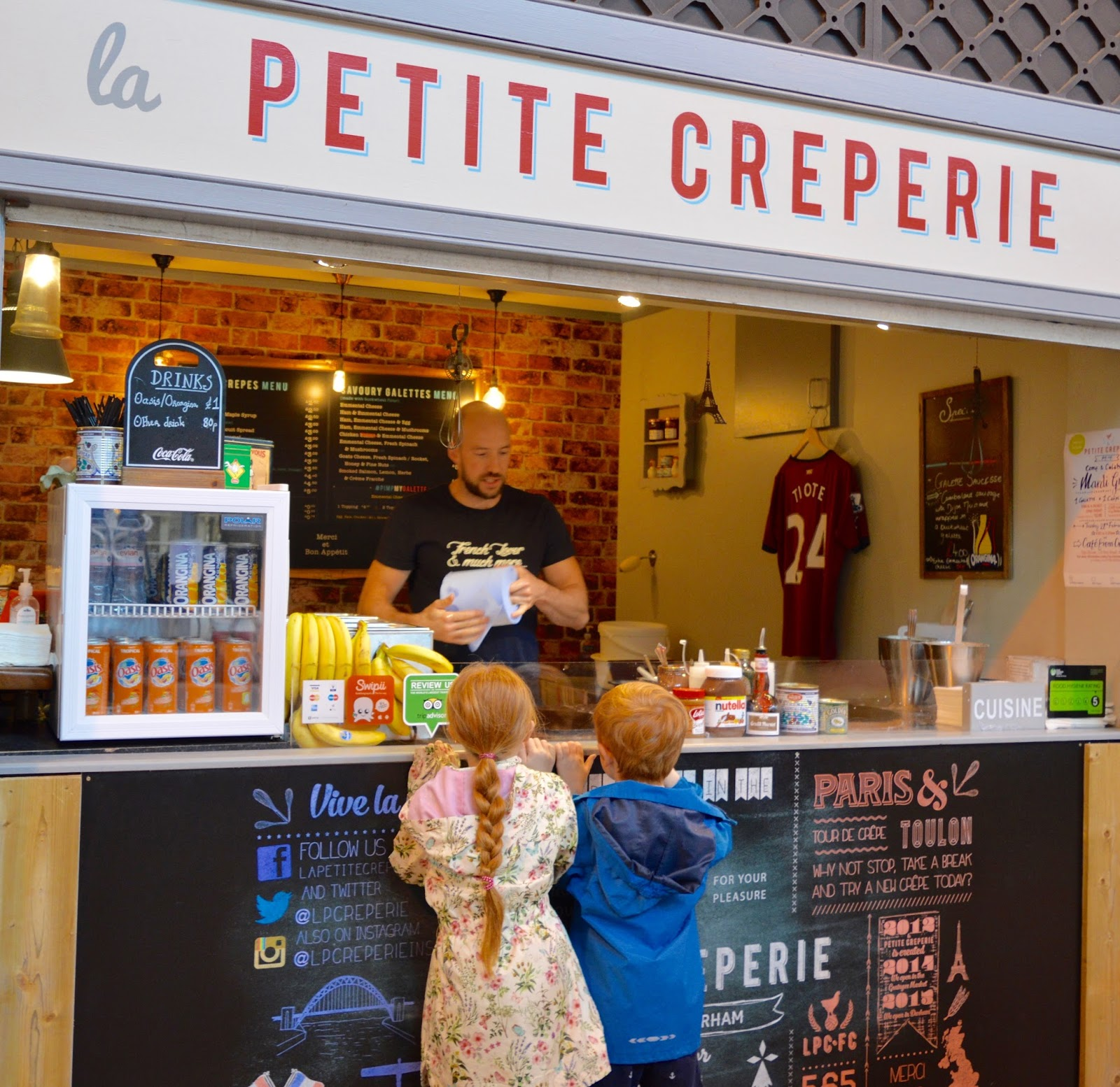 The best child-friendly restaurants near Newcastle Theatre Royal - Grainger market crepes