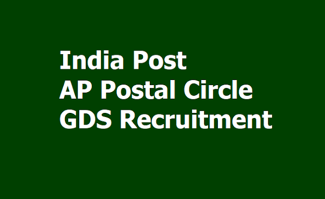 AP Postal Circle Gramin Dak Sevaks (GDS) Recruitment 2019