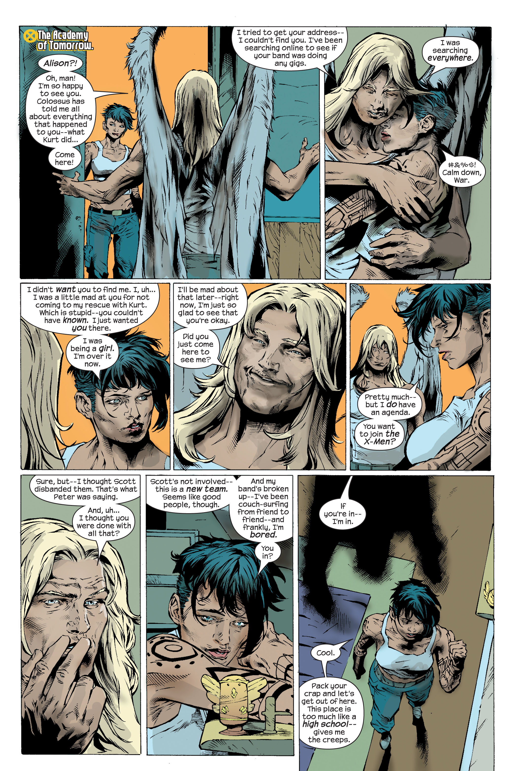Read online Ultimate X-Men comic -  Issue #83 - 8