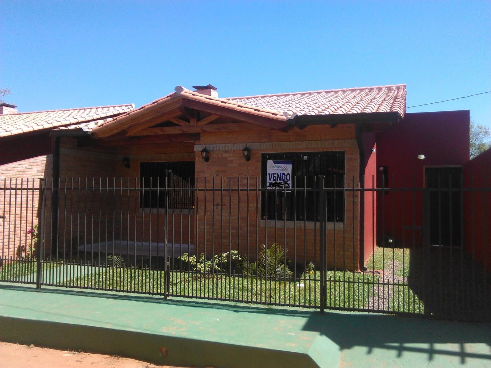 Casas en cuotas en paraguay urbanizacion gali - Construir una casa economica ...
