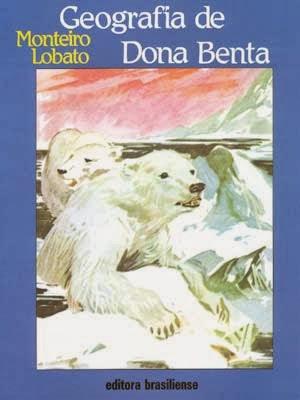 geografia de dona benta - monteiro lobato - hendrik van loon - editora brasiliense - sítio do picapau amarelo - manoel victor filho - jacob levitinas - década de 1990 - década de 2000 - capa de livro - bookcover