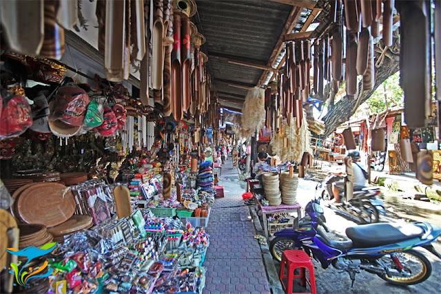 Pasar Seni Kumbasari sebagai Tempat Wisata Malam di Bali
