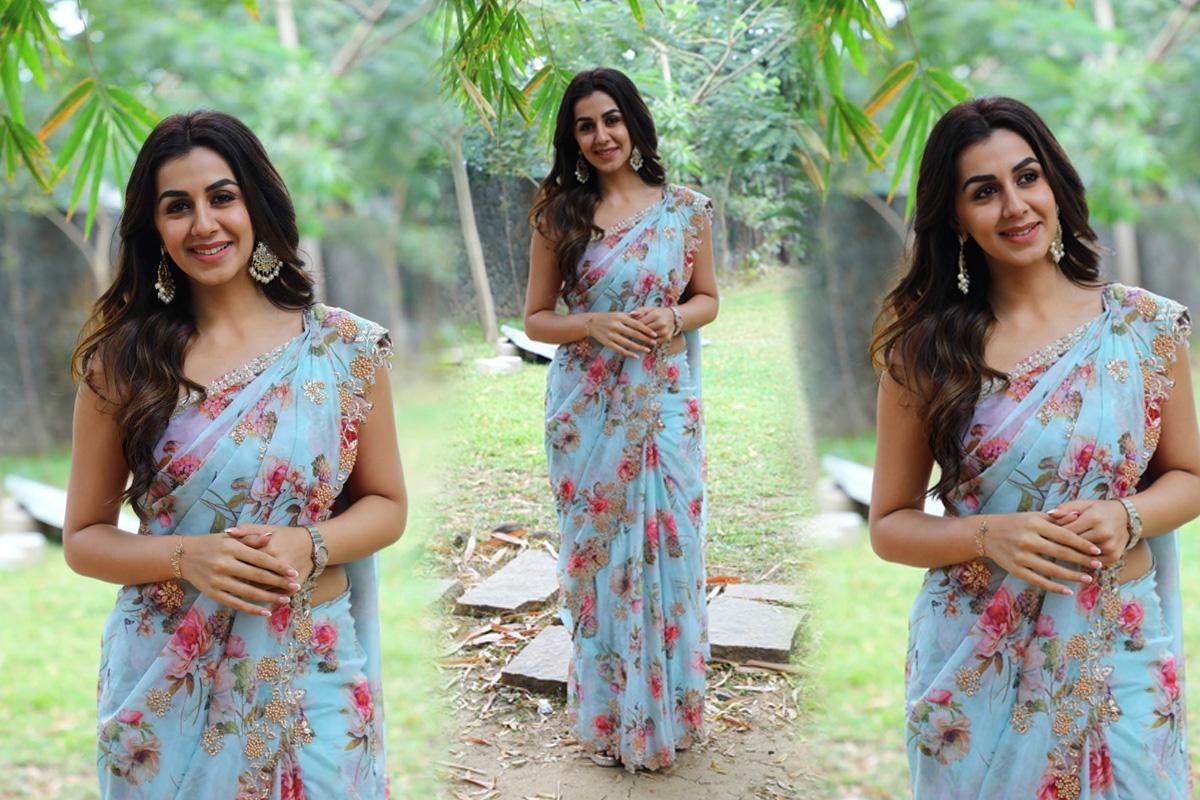 Actress Nikki Galrani Rajavamsam Movie Audio Launch Stills