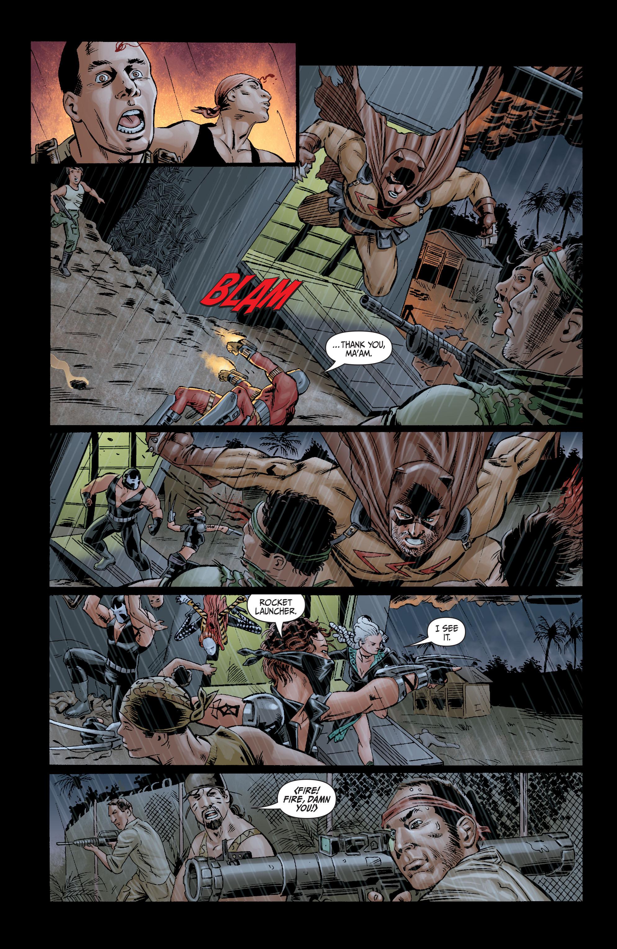 Read online Secret Six (2008) comic -  Issue #10 - 20