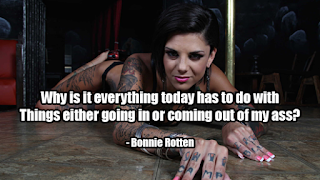 fake celebrity quotes: Bonnie Rotten