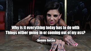 fake celebrity quotes: Bonnie Rotten