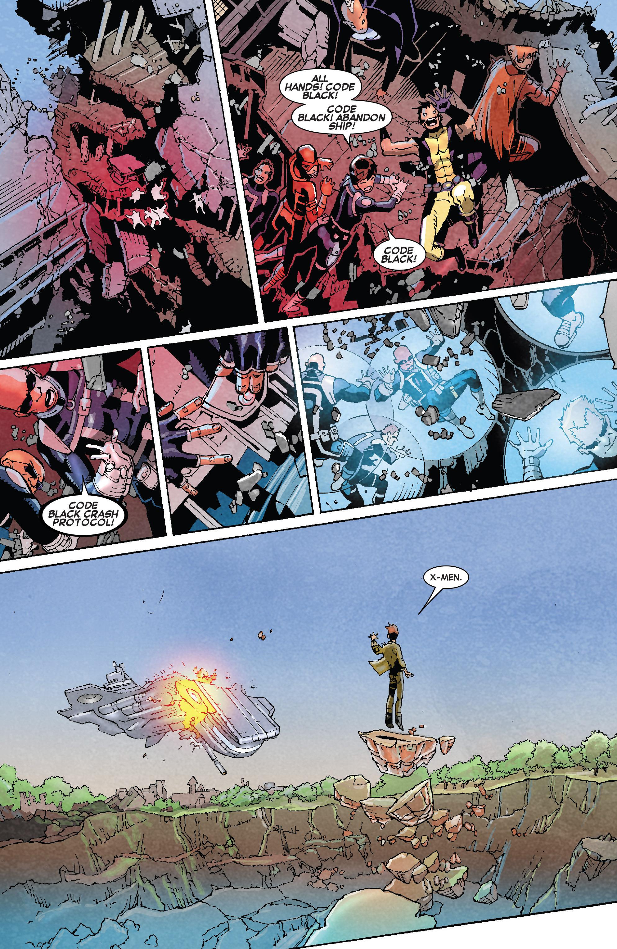Read online Uncanny X-Men (2013) comic -  Issue # _TPB 5 - The Omega Mutant - 29