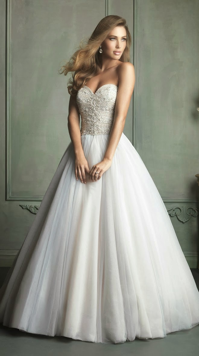 Allure bridal spring 2014 collection part 1 glowlicious for Cheap allure wedding dresses