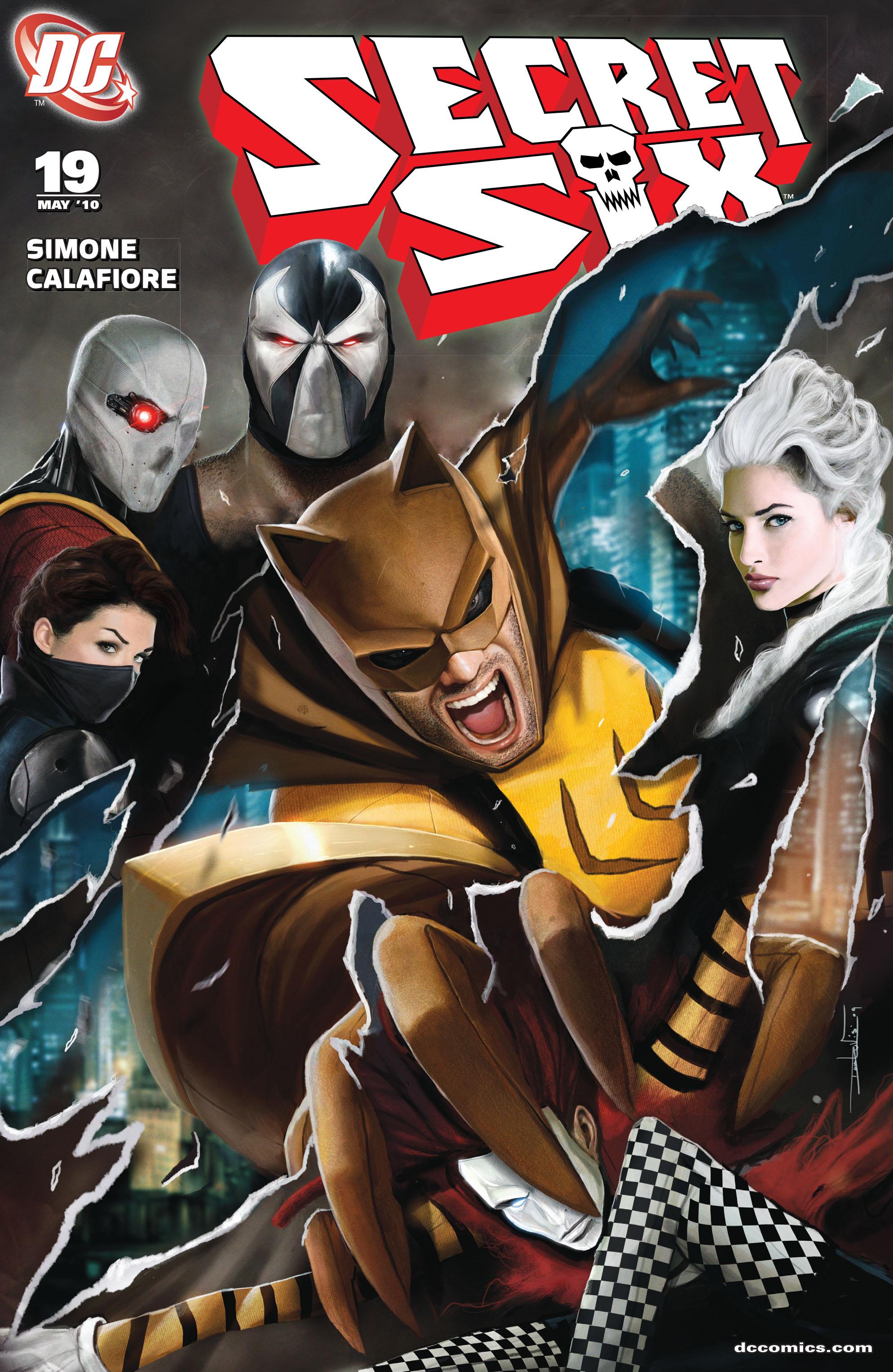 Read online Secret Six (2008) comic -  Issue #19 - 1