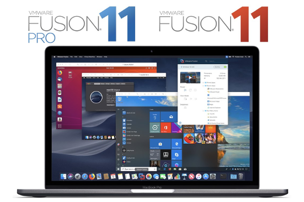 VMware releases Fusion 11 and Fusion 11 Pro with macOS Mojave and DirectX 10.1 graphics support