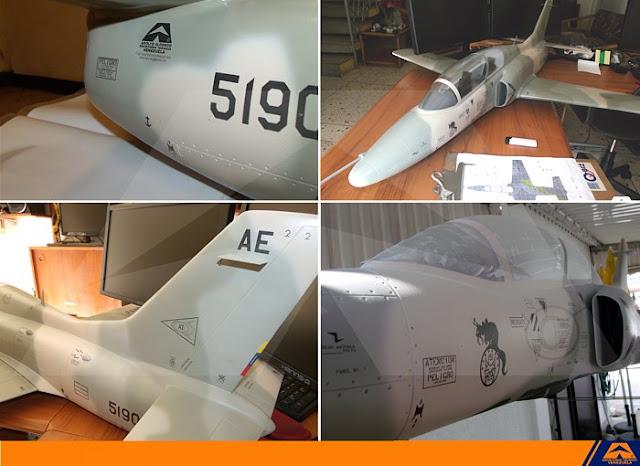 modelo k-8 karakorum venezuela nuevo camuflaje AAET