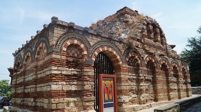 Nesebyr cerkiew archaniołów Michała i Gabriela