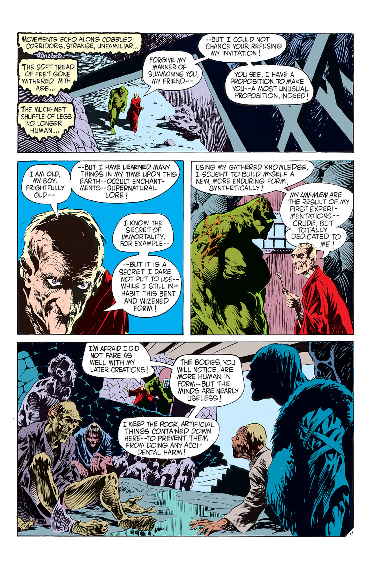 Swamp Thing (1972) Issue #2 #2 - English 12