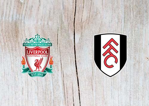 Liverpool vs Fulham Full Match & Highlights 11 November 2018