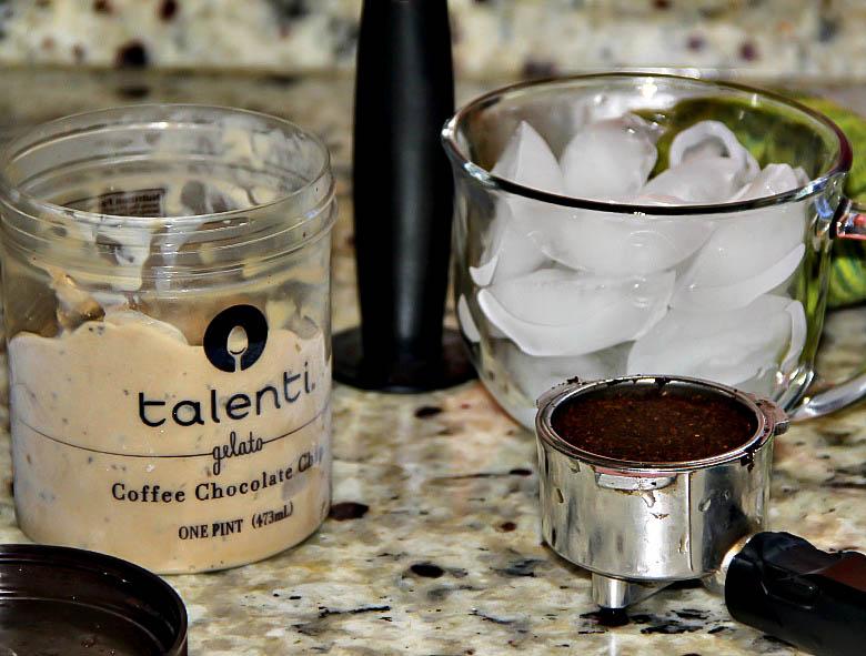 Chocolate Chip Iced Coffee
