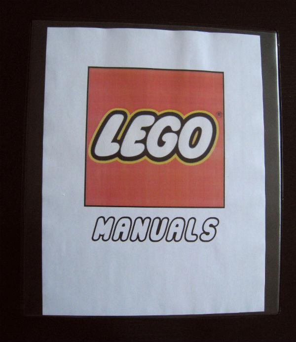 OCDelightful Binder Organizationfor LEGO