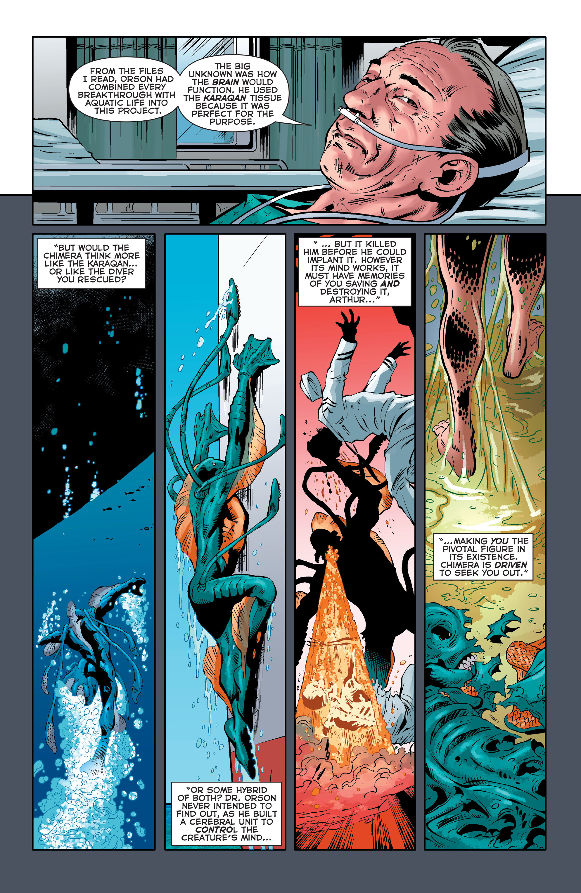 Read online Aquaman (2011) comic -  Issue #33 - 19