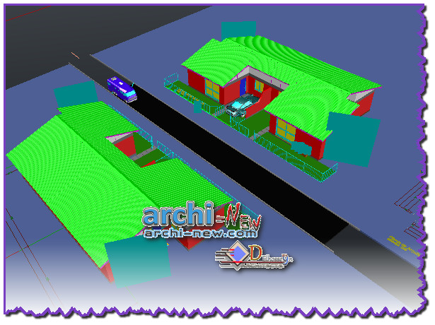 the 4th house 3d semi detached dwelling