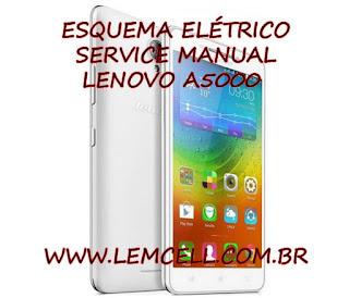 Esquema Elétrico Smartphone Celular Lenovo A5000 Manual de Serviço Service Manual schematic Diagram Cell Phone Smartphone Lenovo A5000