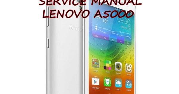 Esquema El U00e9trico Smartphone Celular Lenovo A5000 Manual De