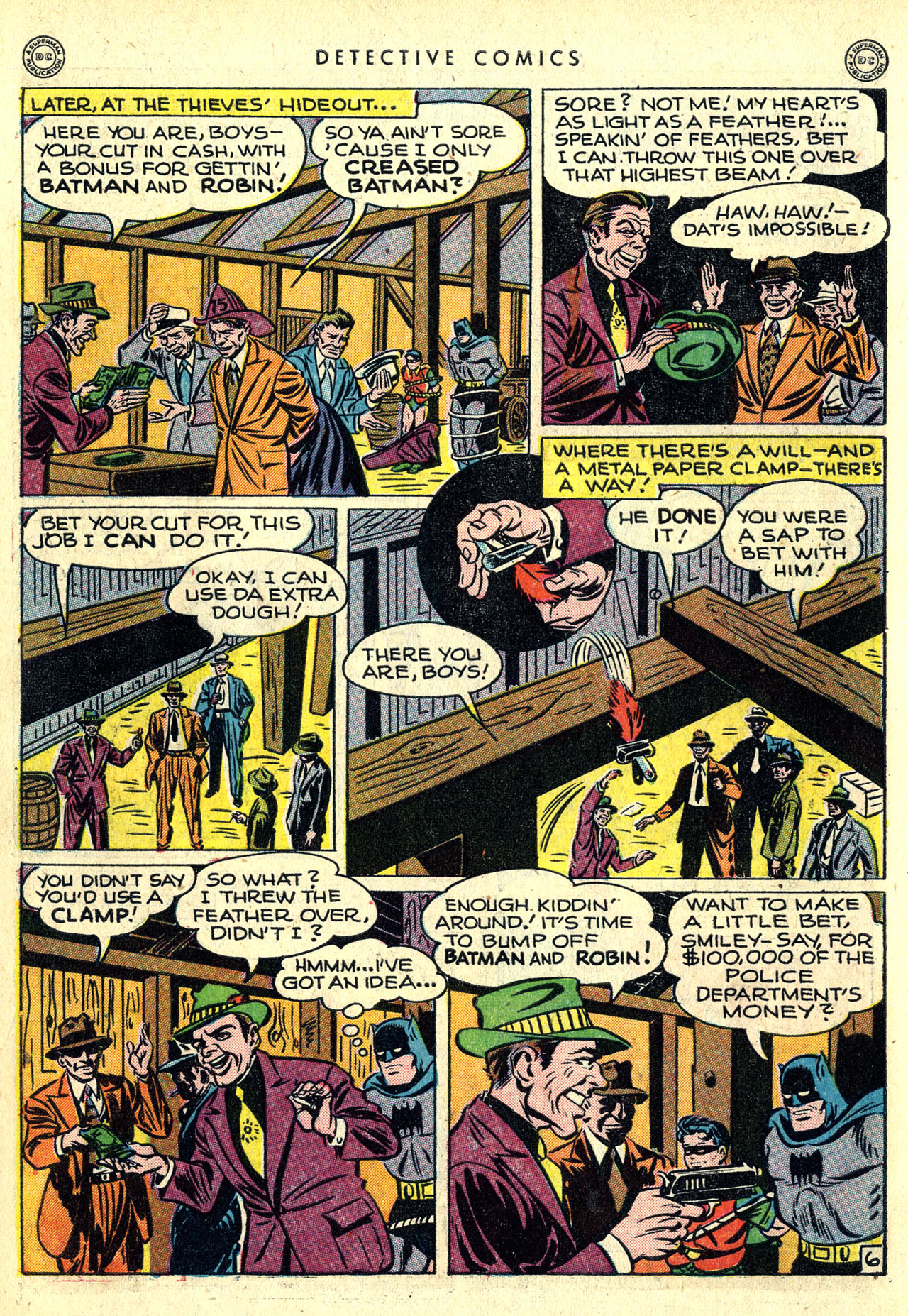 Read online Detective Comics (1937) comic -  Issue #121 - 8