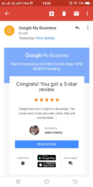 Warih-Homestay-5Star-Review-Pn-Arina